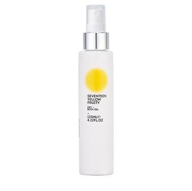 Seventeen Dry Body Oil Yellow Fruity 125ml