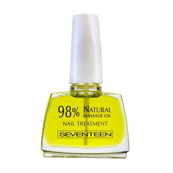 Seventeen 98 % Natural Massage Oil Nail Treatment