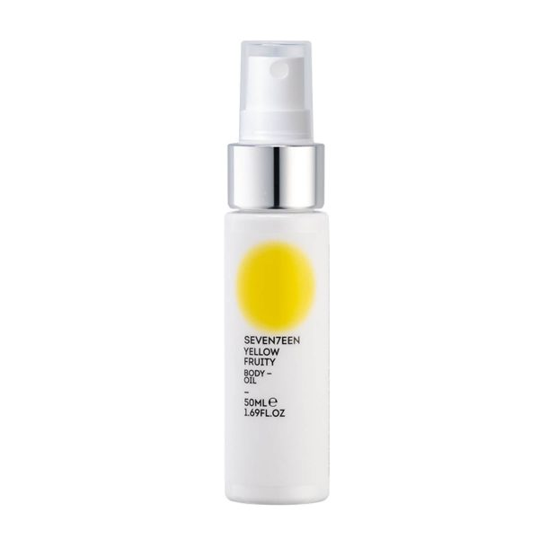 SEVENTEEN DRY BODY OIL YELLOW FRUITY