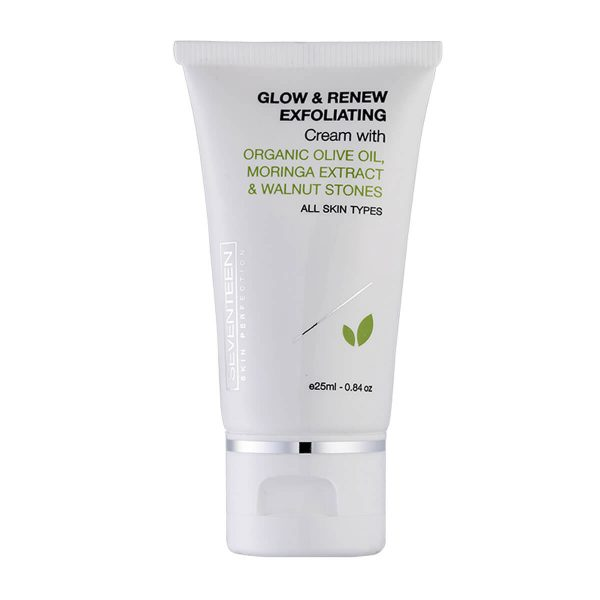 Seventeen cosmetics Glow & Renew Exfoliator for All Skin Types