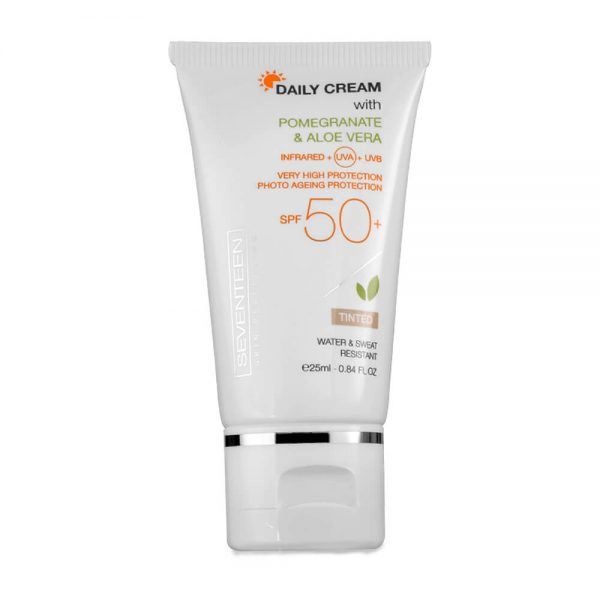 Seventeen cosmetics Daily Cream SPF50 Tinted