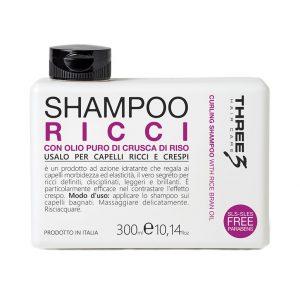 FAIPA Three Hair Care Shampoo Ricci 300 ml