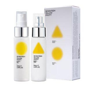Seventeen Yellow Fruity Set Body Mist 50ml and Body Oil 50ml