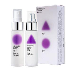 Seventeen Purple Magic Set Body Mist 50ml and Body Oil 50ml