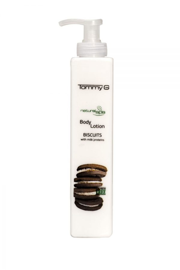 Tommy G Natural Spa B.Lotion Biscuits 300ml