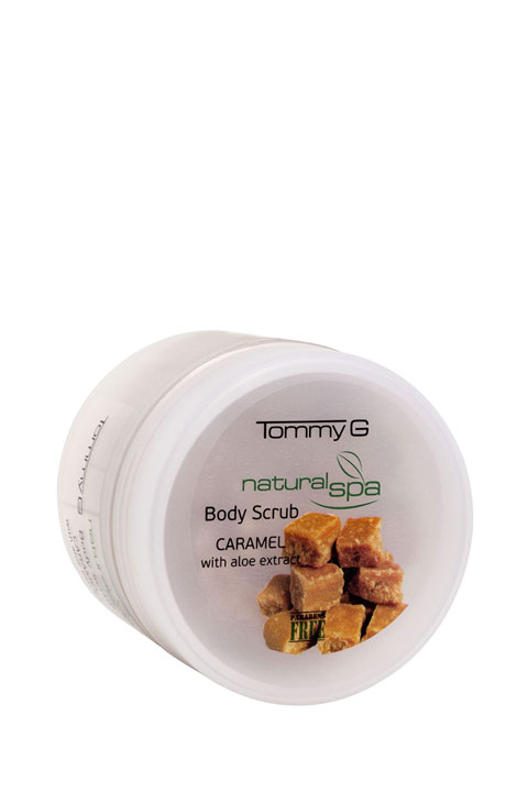 Tommy G Natural Spa B.Scrub Caramel 200ml