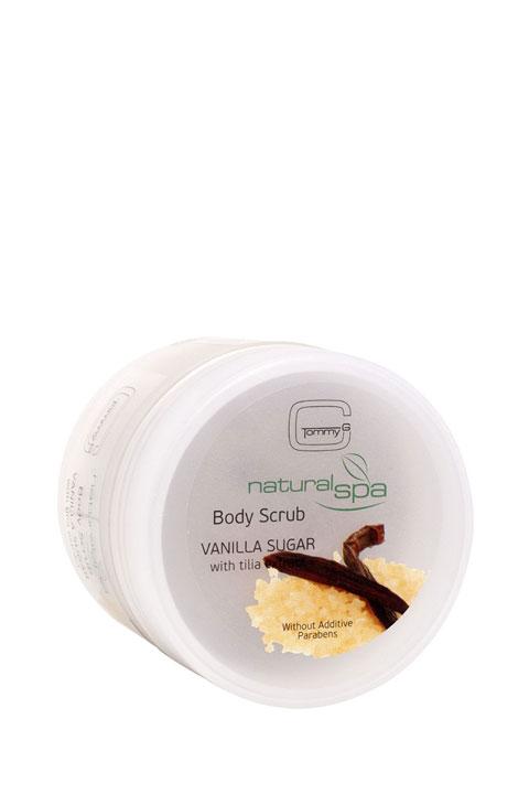 Tommy G Natural Spa B.Scrub Vanilla and Sugar 200ml