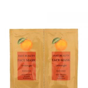 FAST BEAUTY FACE MASK orange TG 2pcs x 8ml