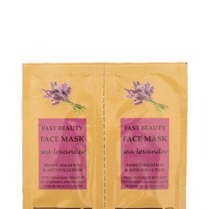 FAST BEAUTY FACE MASK sea lavender TG 2pcs x 8ml