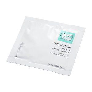 SEVENTEEN CLEAR SKIN RESCUE MASK 6ml + 6ml