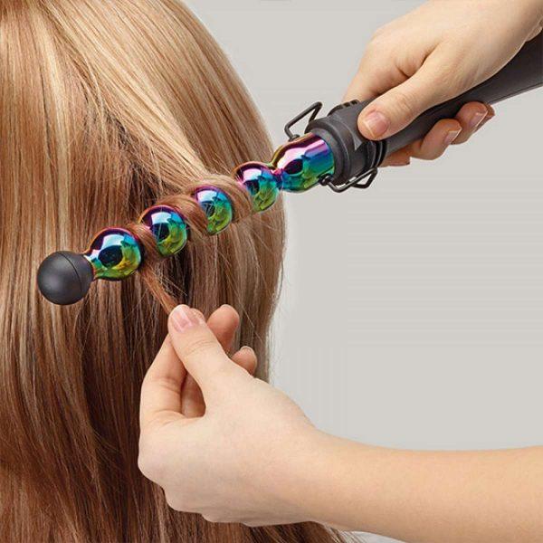 Gamma Piu professional Iron Bubble Rainbow 25mm Σίδερο Μαλλιών