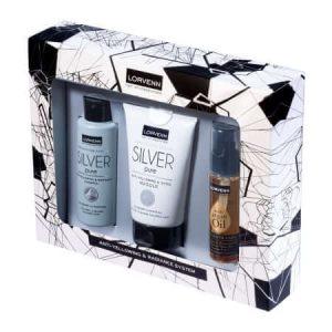 Lorvenn Set Silver Pure