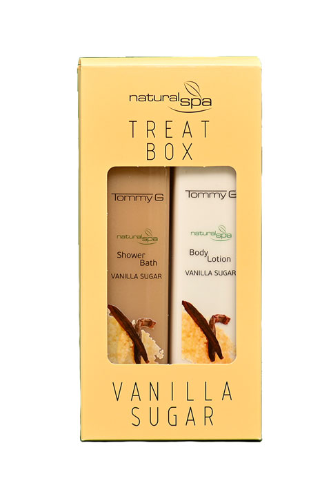 Tommy G Treat Box Natural Spa Βανίλια