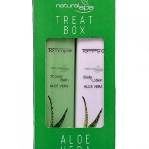 Tommy G Treat Box Natural Spa Aloe Vera