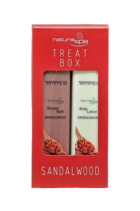 Treat Box Natural Spa Σανδαλόξυλο