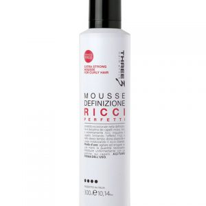 Tommy G Mousse Three Extra Strong Curly Hair 300ml