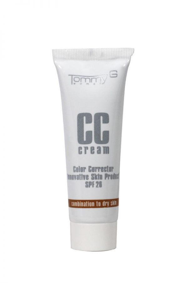TOMMY G CC CREAM COMB.TO DRY SKIN N.02