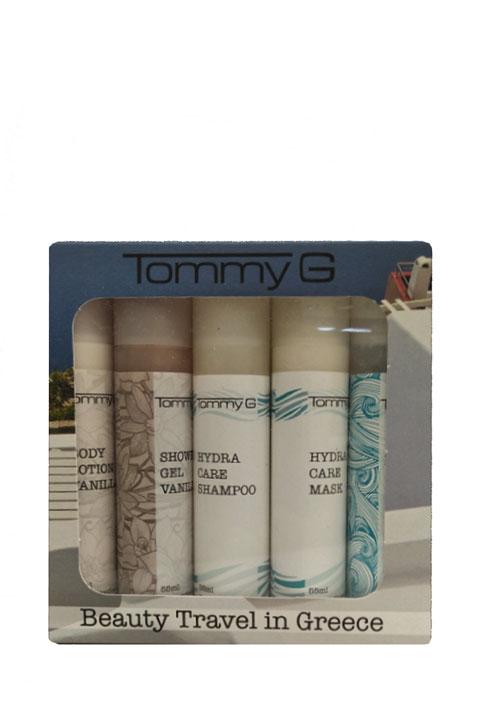 Tommy G Beauty Travel Kit MYKONOS 5pcs x 55ml