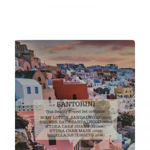Tommy G Beauty Travel Kit SANTORINI 5pcs x 55ml