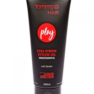 Tommy G Play Extra Strong Gel Tube 200ml