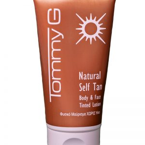 Tommy G Self Tan Body and Face Tinted Lotion 150ml